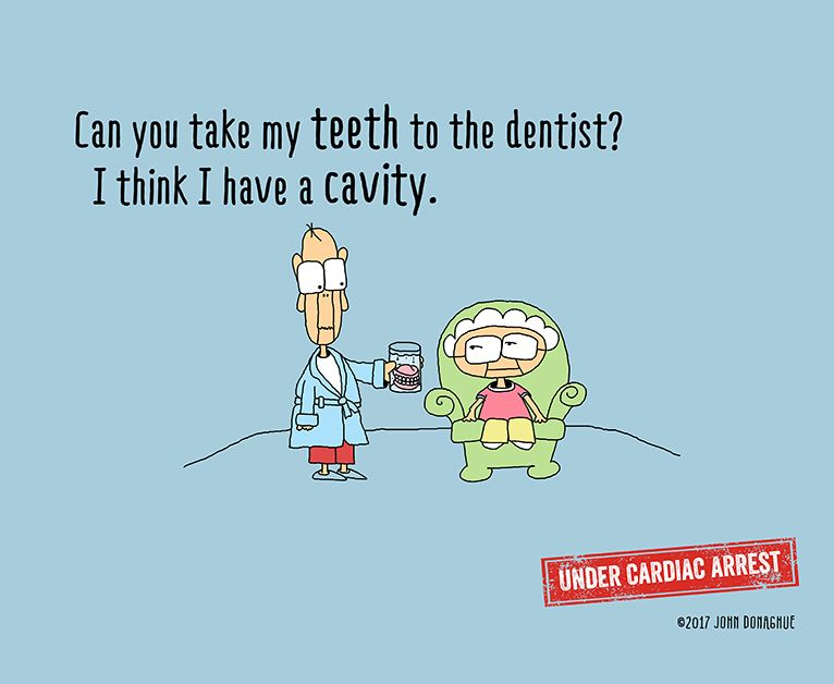 Who likes going to the dentist?