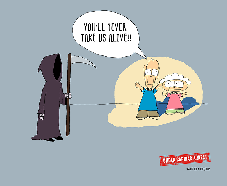 Just say no to the Grim Reaper